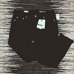 "GAP distressed ""girlfriend"" jeans"